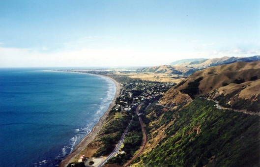 View from Paekakariki Hill Road