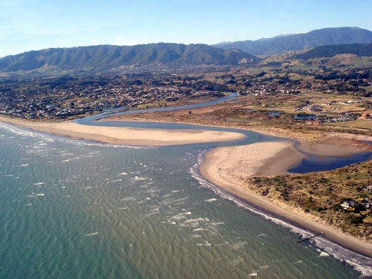 Waikanae River mouth