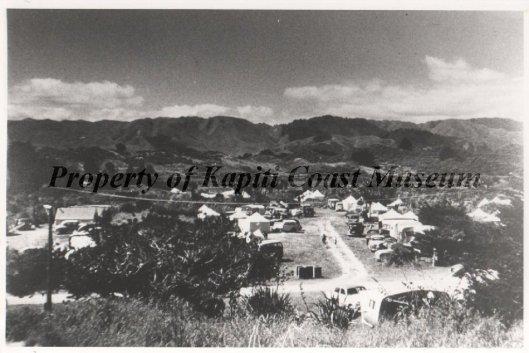 Waikanae Motor Camp 1949ish