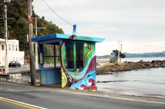 Days Bay busshelter