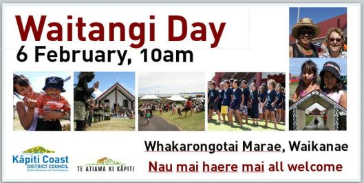 Waitangi Day marae