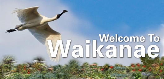 Welcome to Waikanae Sign alt1