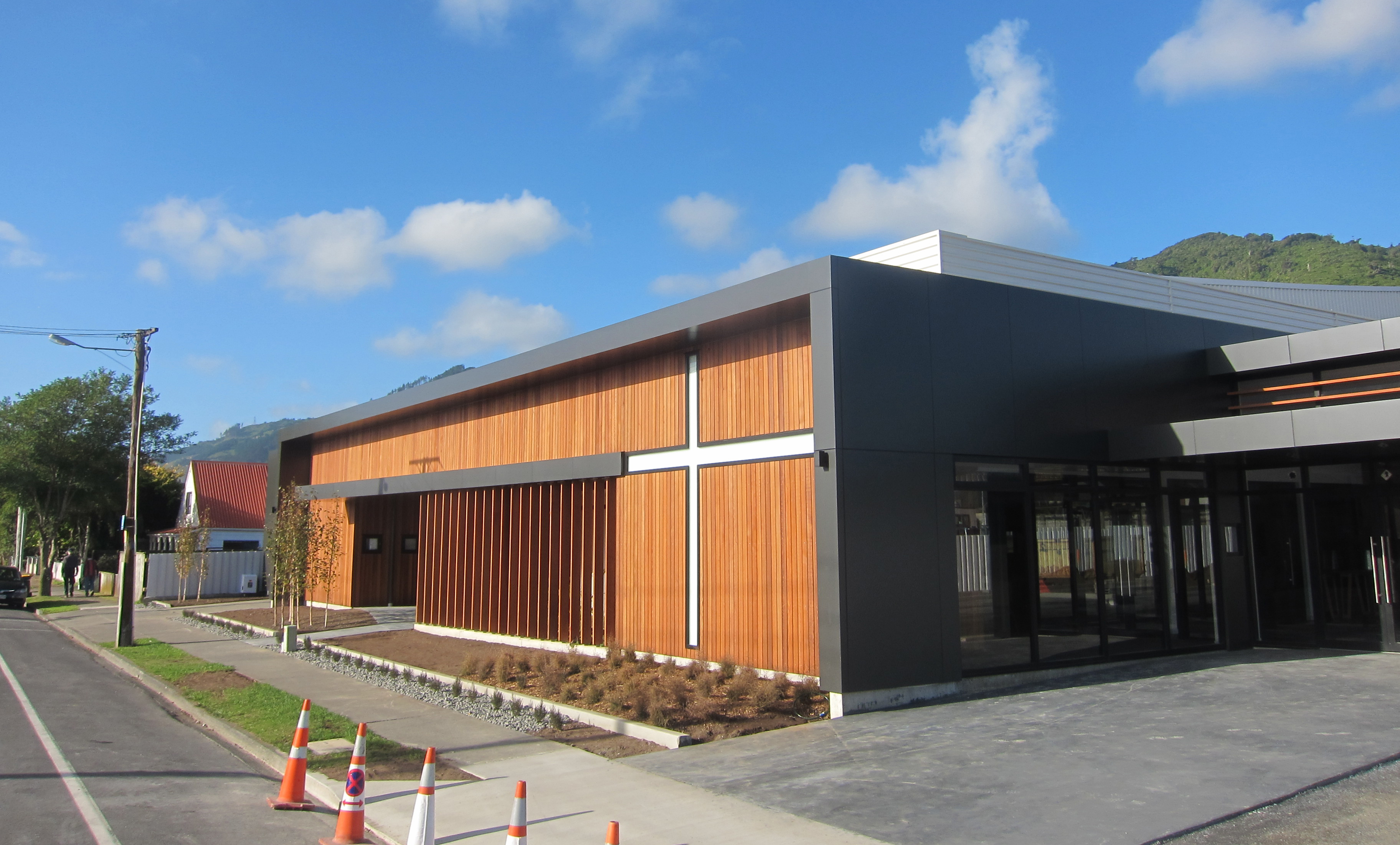 New Funeral Home Building Almost Ready Waikanae Watch