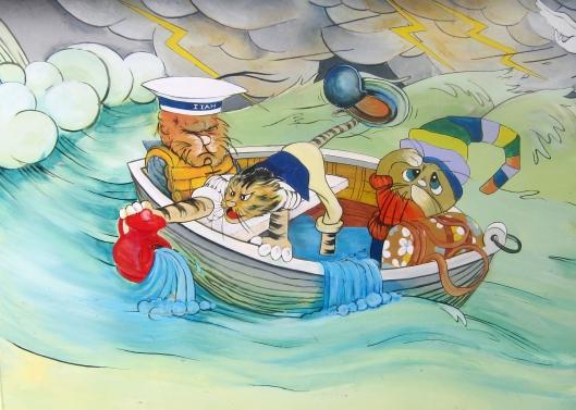 cat-mural