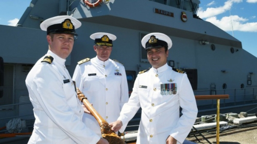 New Zealand Navy's newest Commanding Officer.
