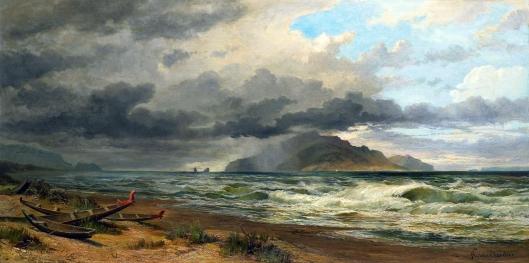 Kapiti Coast Nicholas Chevalier 1884