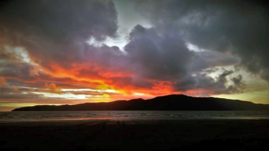 Kapiti Is eruption
