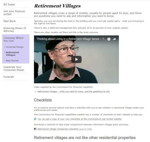 RetirementVillages