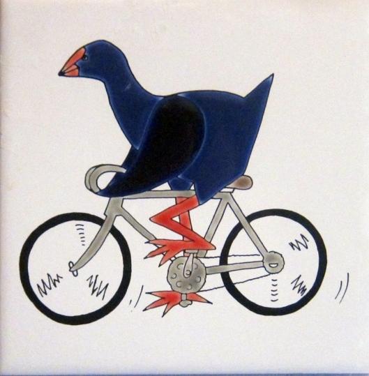 Pukeko cycling