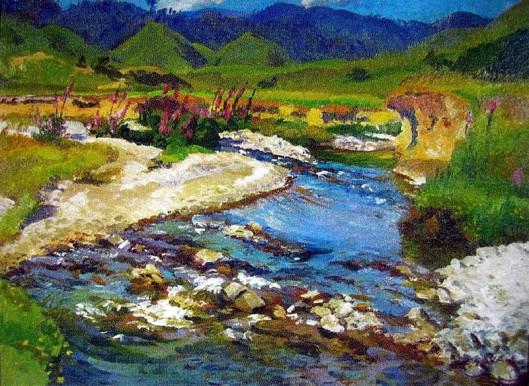 Cedric Savage Upper Reaches of the Waikanae River