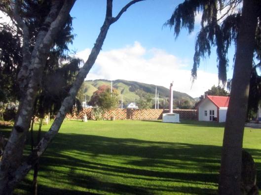Marae lawn