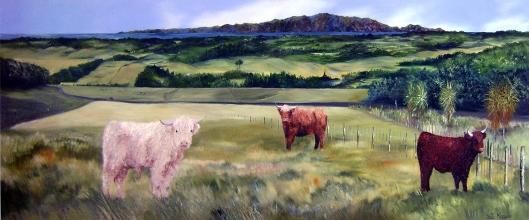Waikanae hinterland cattle Sally Maguire