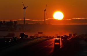 hot sun rising