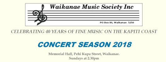 Waikanae Music 2018