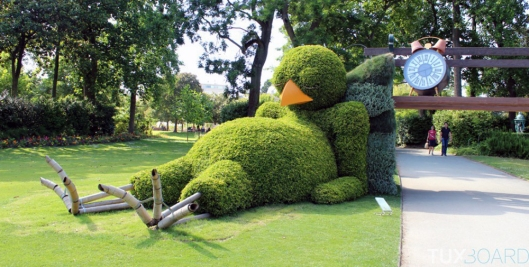 topiary-insolite-drole