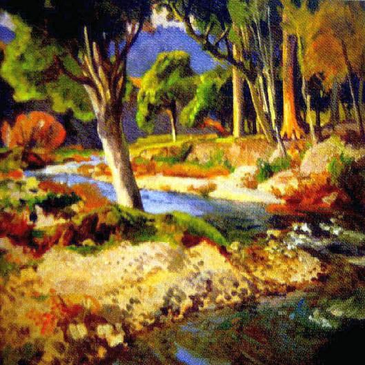 Waikanae River bend Cedric Savage
