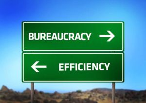 bureaucracy efficiency