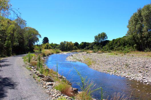 Waikanae River vue