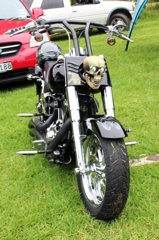 Otaki Skull Bike
