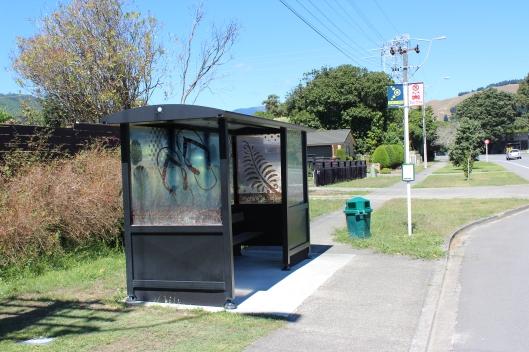 Waikanae Te Moana bus stop