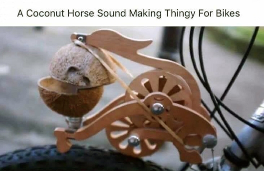 coconut horse