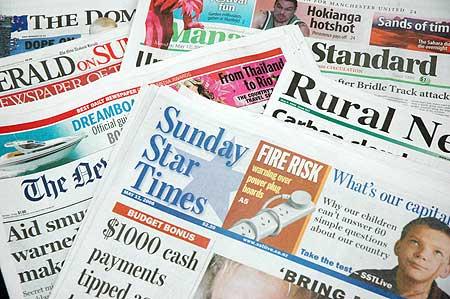 Printed newspapers-1