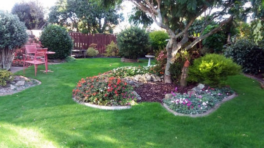 waiky flowerbed