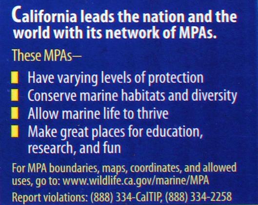California MPAs