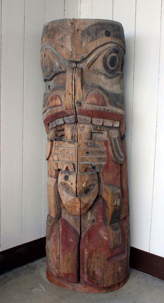 Maori style totem