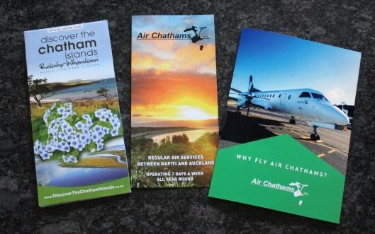 Air Chathams brochures