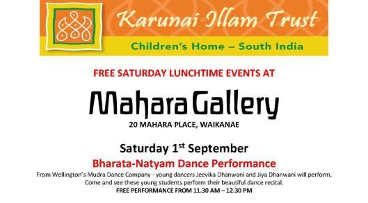 Mahara 1 September
