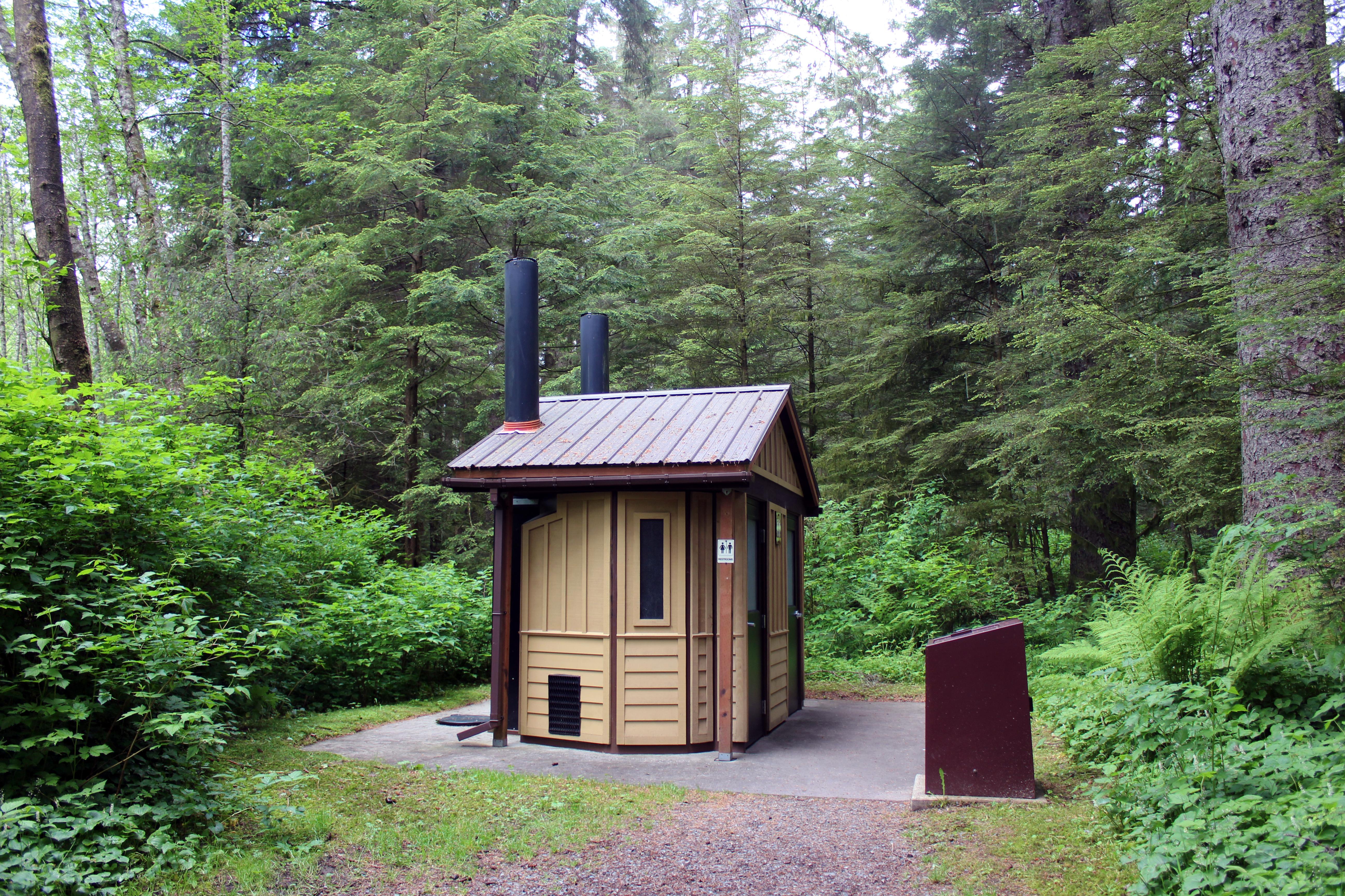 tiny house in the woods, Sitka, Alaska  Waikanae Watch