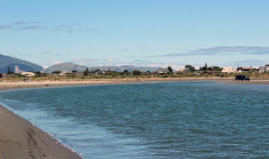 Waikabae River and SUV