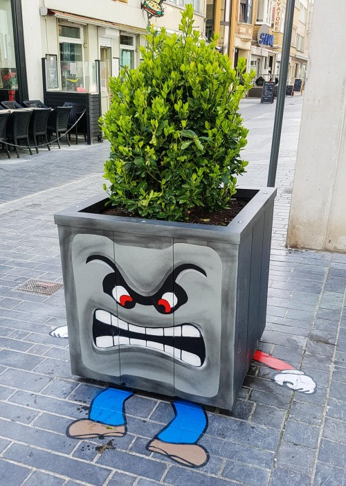 art planter box