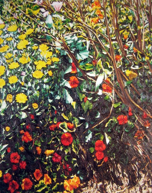 Garden study Karl Maug