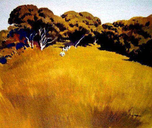 Waikanae landscape Peter McIntyre