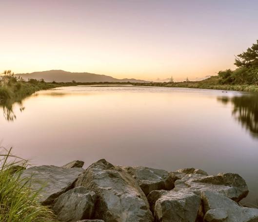 Waikanae River twilight