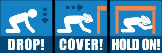 Great ShakeOut Earthquake Drills Infographic