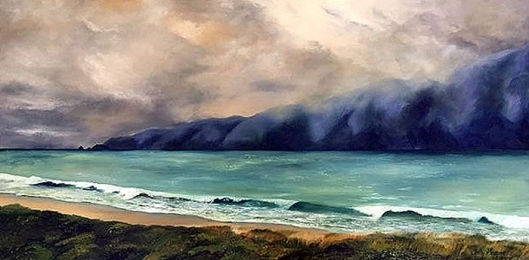 Waikanae Beach by Sally Maquire 2003