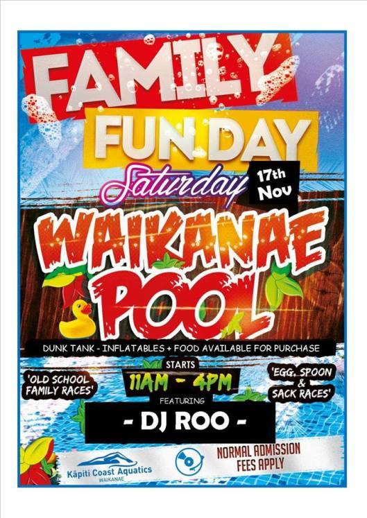 Pool Fun Day