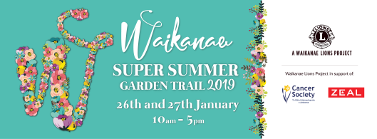 Waikanae Lions Garden Trail 2019