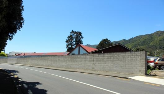 Marae Lane wall
