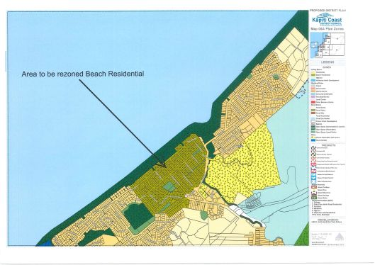 draft PDP changes Waikanae beach 'olde beach' rezoning-8