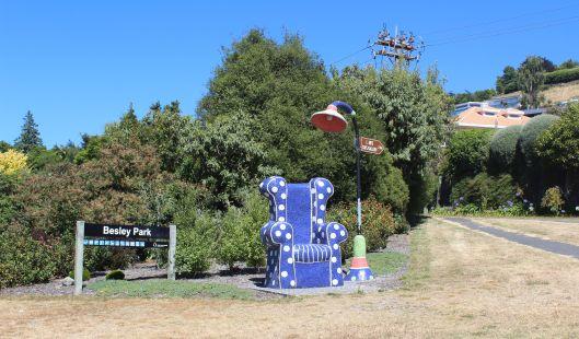 public art Acacia Bay Taupo
