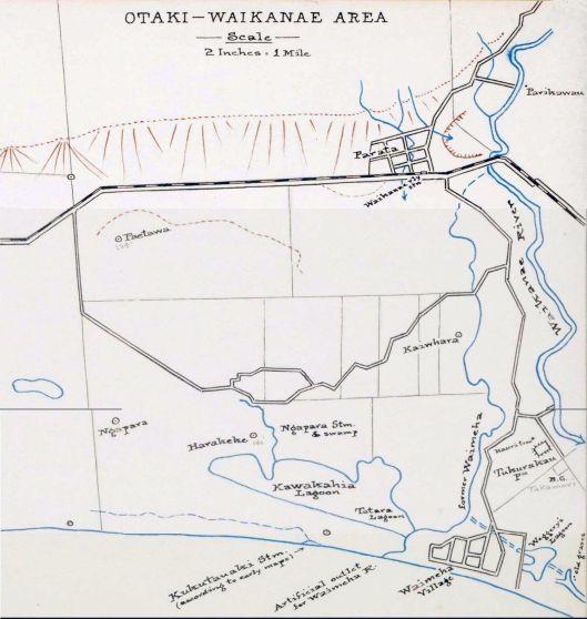 Waikanae map 1941