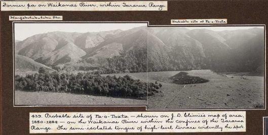 Former pa on Waikanae River