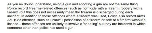 illegal gun usage