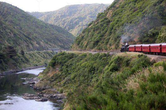 Steam Inc in Manawatu Gorge