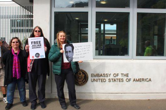 US Embassy Amanda Vickers
