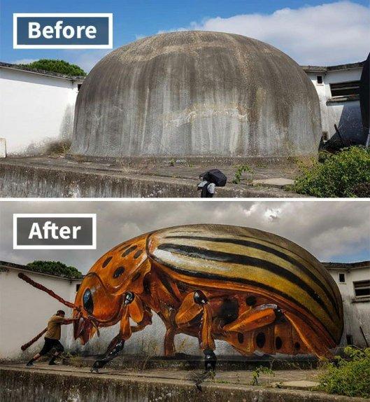 art beetle
